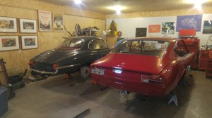 "Ben Schotz's Alfa Spring Special and Fiat Dino ""In process"""